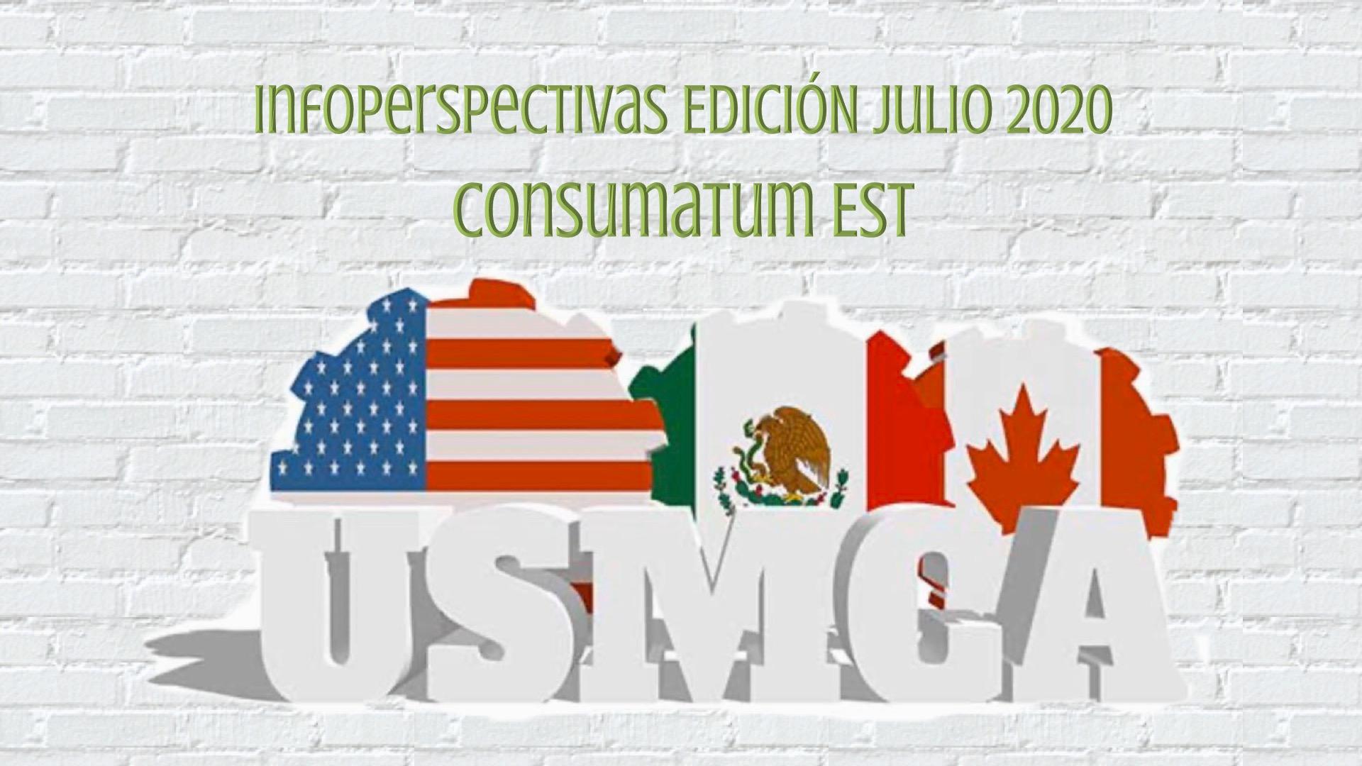 InfoPerspectivas TribuAmericas Julio 2020 USMCA Consumatum Est