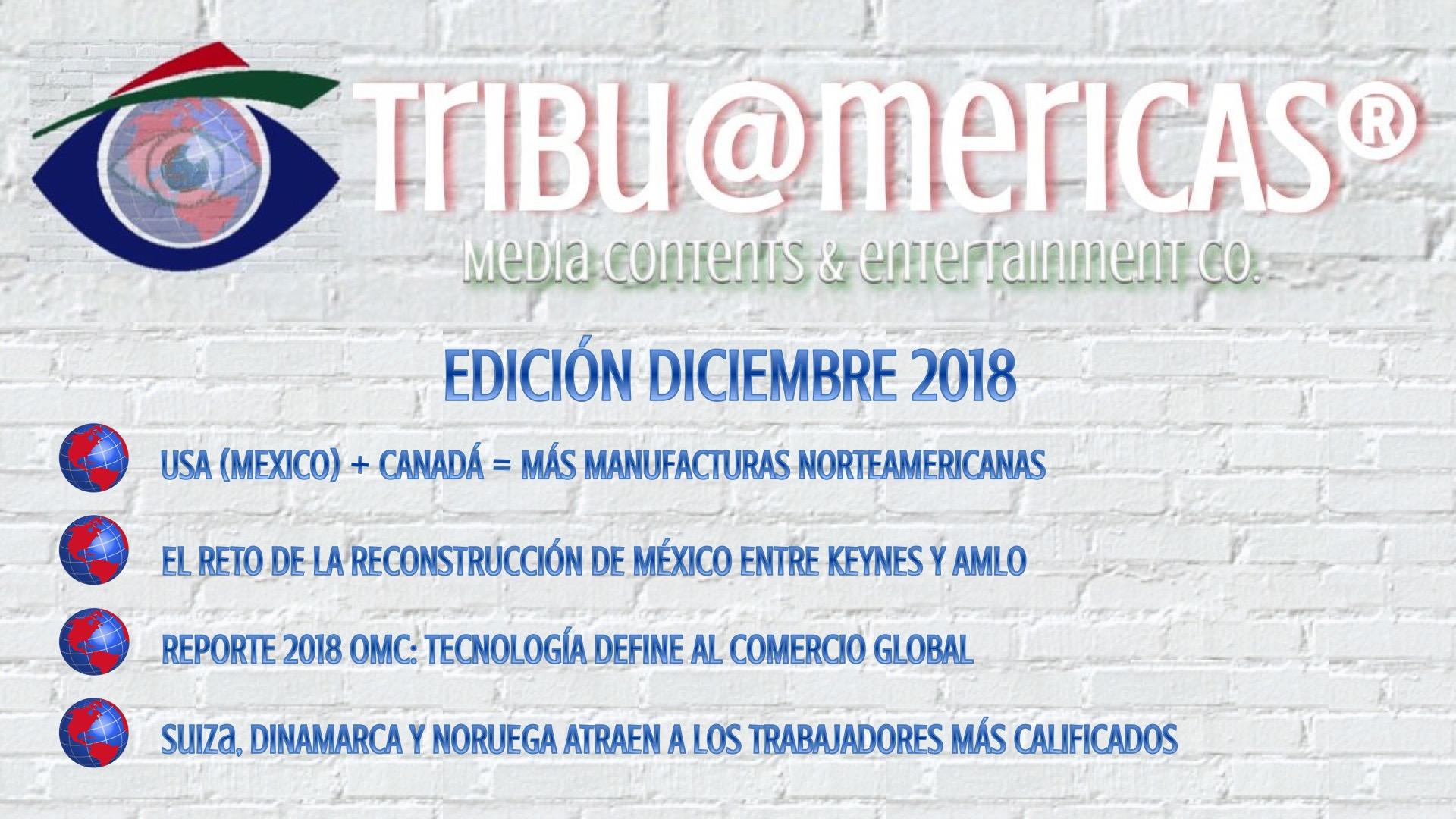 Diciembre 2018 El Reto de la Reconstrucción de México entre Keynes y AMLO